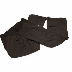 Lululemon Athletica Studio Pants Black Lined